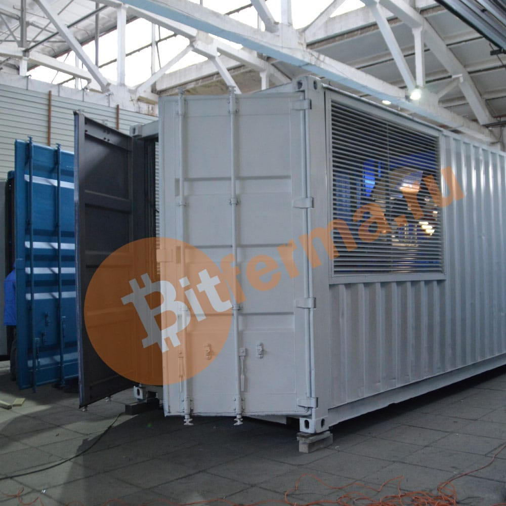 20 ft Container modification